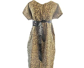 Amazoncom Cheetah Maternity Hospital Gown Size Smallmedium Fits
