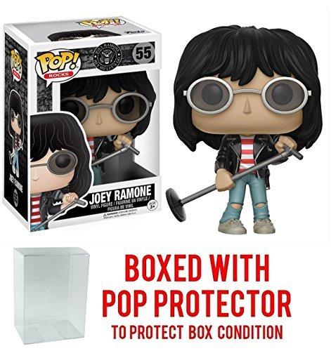 Funko Pop Rocks  Music   Joey Ramone  55 Vinyl Figure  Bundled With Pop Box Protector Case