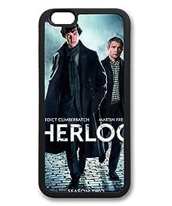 iCustomonline Case for iPhone 5S (TPU), Sherlock Stylish Durable Case for iPhone 5S (TPU)