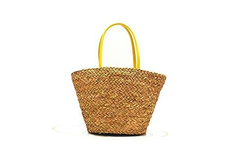 Amazon.com: Sulida Mujeres Clásico paja verano playa mar ...