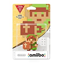 Nintendo 8-Bit Link Amiibo: The Legend of Zelda-The Legend of Zelda Series - Zelda Series Edition