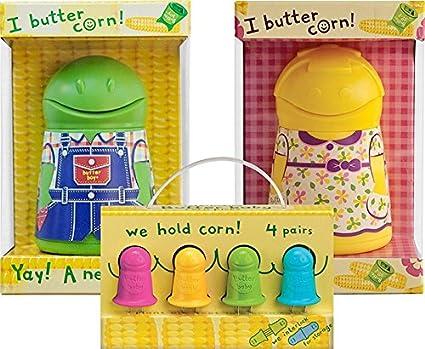 Talisman Designs Butter Boy Corn Butterer, Green BB-G