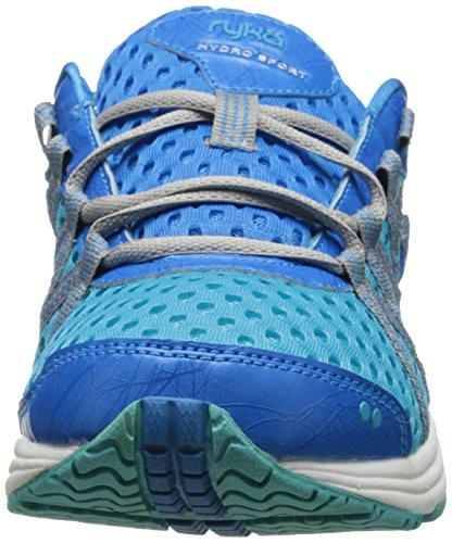 Ryka Womens Hydro Sport Water Shoe Scarpa Cross-training Detox Blu / Scintillio Blu / Argento Cromato