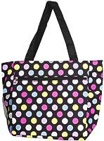 World Traveler Colorful Polka Dots 18-inch Travel Tote Bag