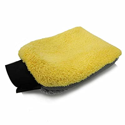 Chemical Guys MIC_402 Waterproof 4-in-1 Microfiber Premium Wash Mitt: Automotive