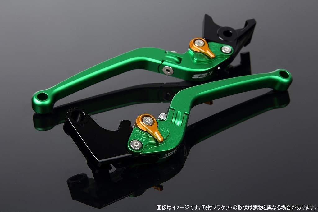 SSK アジャストレバー スタンダード可倒式 レバー本体カラー:マットグリーン アジャスターカラー:マットゴールド LVAM070GN-GD B07MX7S99L