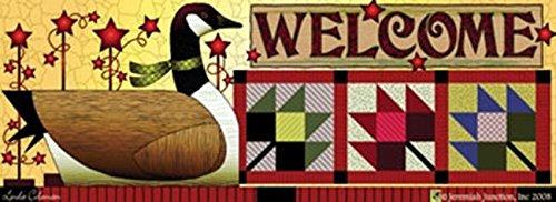 Autumn Goose Art-Snaps!® Magnetic Mailbox Art