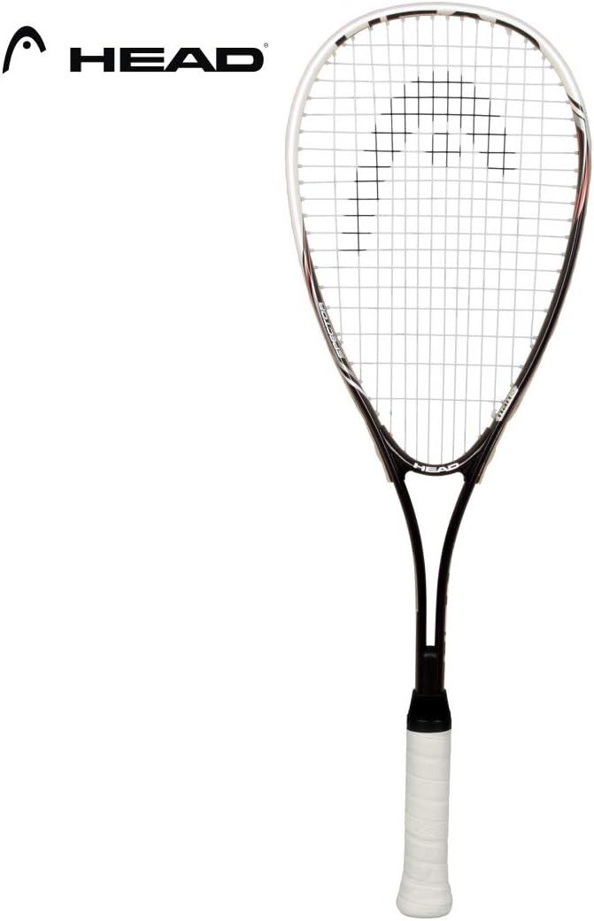 Head Nano Ti Spector 2.0 - Raqueta de squash, color negro y blanco