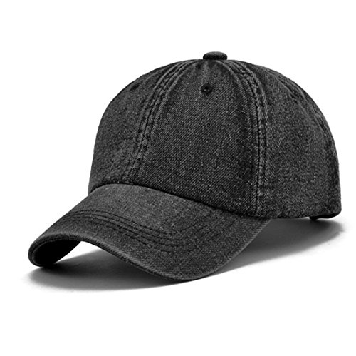 KeepSa Baseball Cap Men Women Snapback Caps Hats Visor Bone Jeans Denim Blank Cap Hat