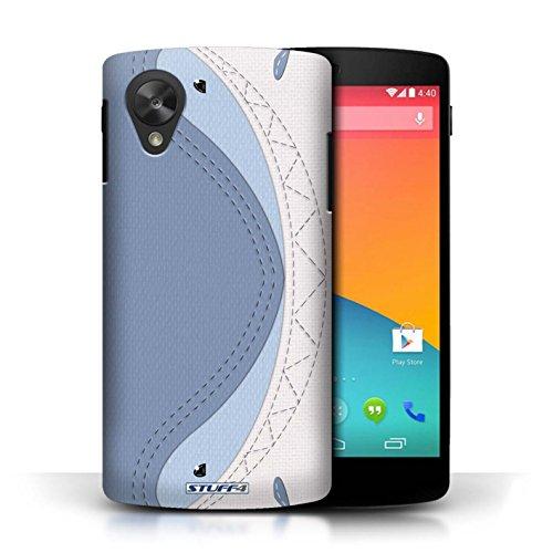 Coque de Stuff4 / Coque pour LG Google Nexus 5/D821 / Requin Design / Cousu des Animaux Effet Collection
