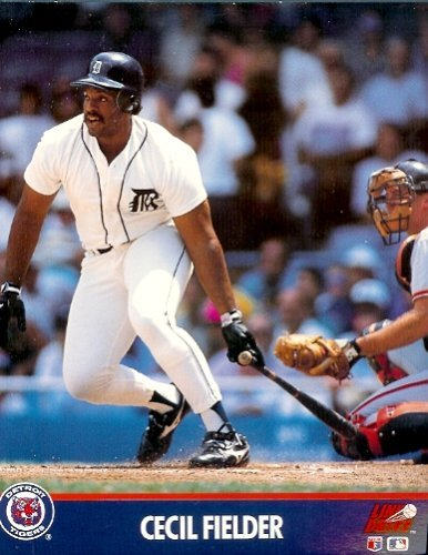 - Cecil Fielder Detroit Tigers 8 x 10 MLB Licensed Photo (1991) - in 8 x 10 Topload Holder