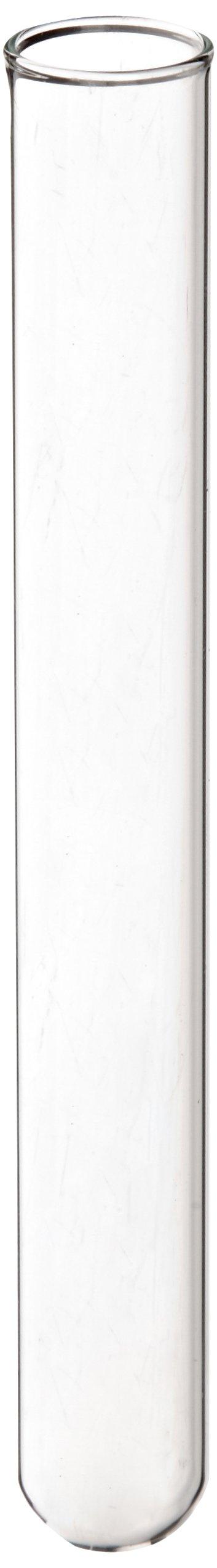 Kimble 73500-13100 N-51A Borosilicate Glass Culture/Test Tube, with Rim Top (Case of 1000)
