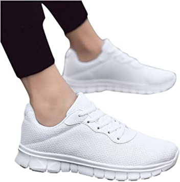 Zapatillas Running Hombre Mujer Zapatos Deporte para Correr Trail Fitness Sneakers Ligero Transpirable Zapatillas Deporte Hombres Mujer Gimnasio Running Zapatos para Correr: Amazon.es: Oficina y papelería