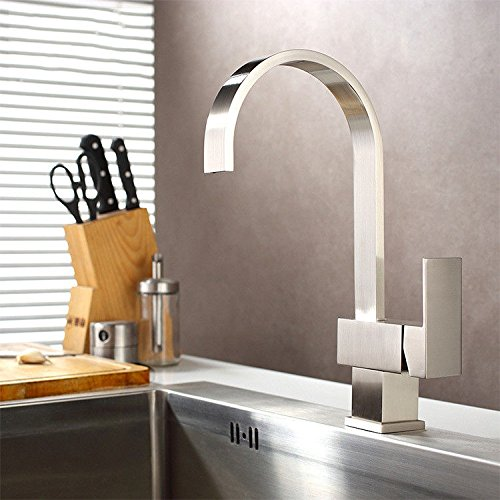Lalaky Taps Faucet Kitchen Mixer Sink Waterfall Bathroom Mixer Basin Mixer Tap for Kitchen Bathroom and Washroom redate