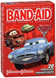 Band-Aid Adhesive Bandages Disney Pixar Cars, 3 Assorted Sizes - 20 ct, Pack of 5