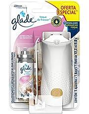 Desodorizador Glade Toque de Frescor Aparelho + Refil Lembrança de Infância Oferta 12Ml