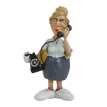 Sekretärin Figur Hobby Beruf Funny Jobs Karikatur 170cm Deko Büro