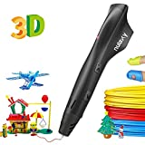 Nulaxy 3D Pen, 2019 Newest 3D Drawing Printing Pen with PLA Filament Refills, Speed&Temperature Control, Non-Clogging, Best Gift for Kids Adults Arts Crafts Model DIY, Easy to Use