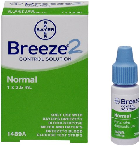 Bayer's Breeze2  Normal Control Solution, 2.5 mL  (Pack of 3)