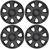 amazon 15 hubcaps hubcaps trim rings hub accessories 2014 Formula 1 Aerodynamics bdk k94b matte black hubcaps toyota camry 15 oem replica cover for wheels plastic