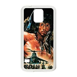First Blood Samsung Galaxy S5 Cell Phone Case White M3E5ZL