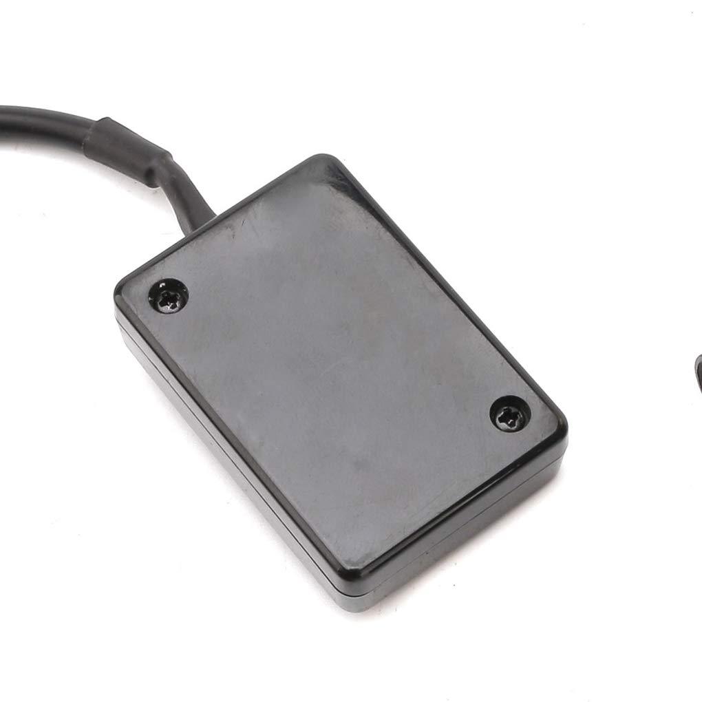 Lorsoul Universal-Auto Digital-/Öldruckanzeige rote LED-Anzeige 0~8 bar /Öldruck Meter IP-OPM-01