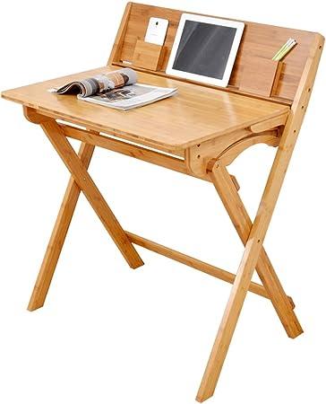 mesa plegable ZB Mesa De Computadora Simple Mesa De Estudio, Mesa De Trabajo Multifuncional, Oficina De Estudiantes En Casa Simple Más Silla Plegable A+ (Tamaño : A): Amazon.es: Hogar