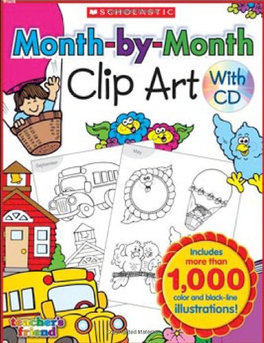 Month-by-Month Clip Art Book (Monthly President)