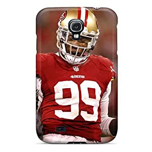 New Snap-on Corentry Skin Case Cover Compatible With Galaxy S4- Aldon Smith 49ers