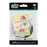 Bella Blvd 1262 Illustrated Faith Basics Paper Pieces Cardstock Die-Cuts, Go, Multicolor