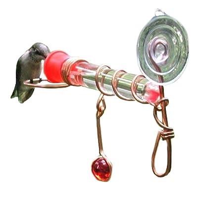 Songbird Essentials Window Wonder One Tube Feeder