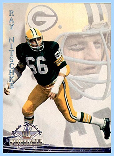 1994 Ted Williams #22 Ray Nitschke GREEN BAY PACKERS Illinois (Nitschke Packers Green Bay Ray)