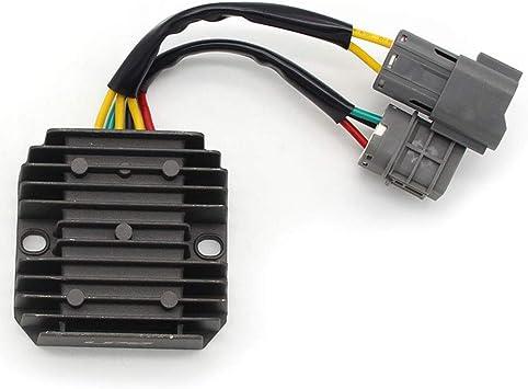 Motorrad Gleichrichter Regler Spannungsregler Für Kymco Uxc Uxv 500 Mxu 250 150 Mongoose 300 Can Am Ds 250 31600 Ldb5 E00 Auto