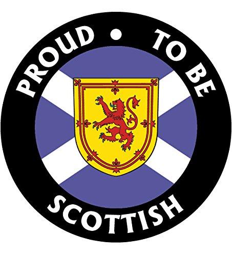 Proud To Be Scottish Car Air Freshener (Xmas Christmas Stocking Filler/Secret Santa Gift) AAF