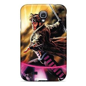 JohnPrimeauMaurice Samsung Galaxy S4 Scratch Resistant Hard Phone Cases Customized Realistic Gambit I4 Skin [xmZ6935QATd]
