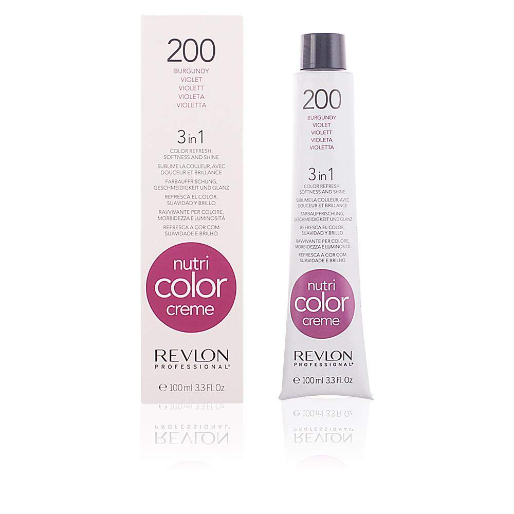 Revlon Nutri Color Cream - Cuidado capilar, color 200-burgundy , 100 ml