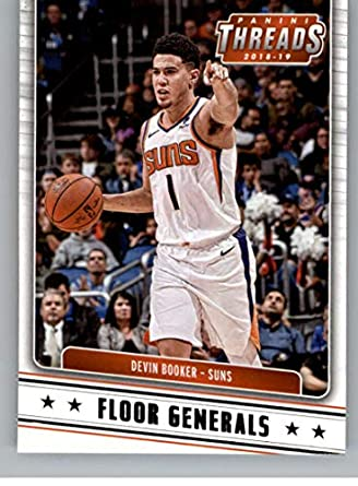 aed1162ef1107 Amazon.com: 2018-19 Panini Threads Floor Generals #3 Devin Booker ...