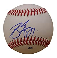 Texas Rangers Joey Gallo Autographed Hand Signed Baseball with Proof Photo of Signing and COA