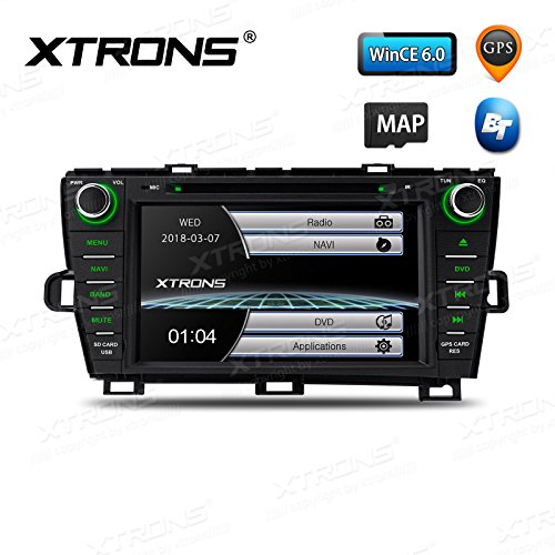 XTRONS 8 Inch HD Digital Touch Screen Car Stereo Radio in-Dash DVD Player with GPS Dual Channel CANbus Screen Mirroring Function for Toyota Prius 2009-2013 Review