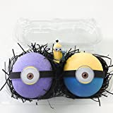 Bath Bomb with Surprise Bath Bomb Gift Set2 MINION Surprise Bombs XL 6.5 oz each-The Island Bath & Body-Made In USA- Shea & Cocoa Butter
