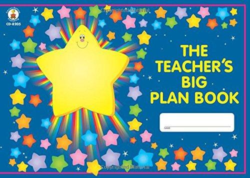 Carson Dellosa The Teacher's Big Plan Book Record/Plan Book (Teachers Big Plan Book)