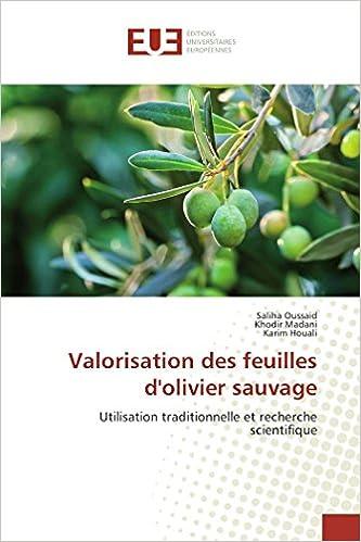 Valorisation Des Feuilles D Olivier Sauvage Utilisation