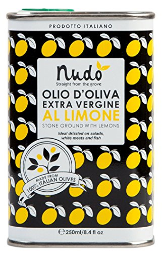 Nudo Extra Virgin Olive Oil Stone Ground with Real Lemons by NUDO