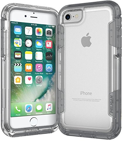 Pelican C23030-000A-CLCG Voyager iPhone 7 Case (Clear/Gray)