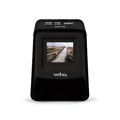 Veho Smartfix Portable Stand Alone Scanneur de película y de diapositivas negativos de 14 mégapíxeles con pantalla de 2,4
