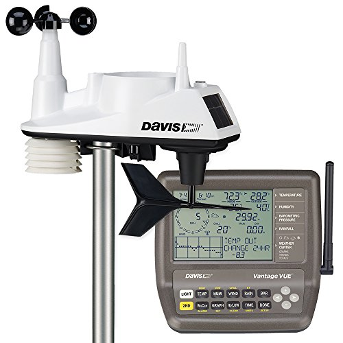 Davis Instruments 6250 Vantage Vue Wireless Weather Station with LCD Console]()
