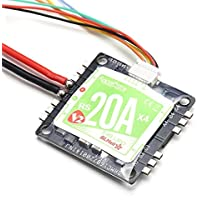 New Racerstar RS20Ax4 V2 20A BB2 48MHz Blheli_S 2-4S Opto Oneshot42 Multishot 4 in 1 ESC for FPV Racer By KTOY