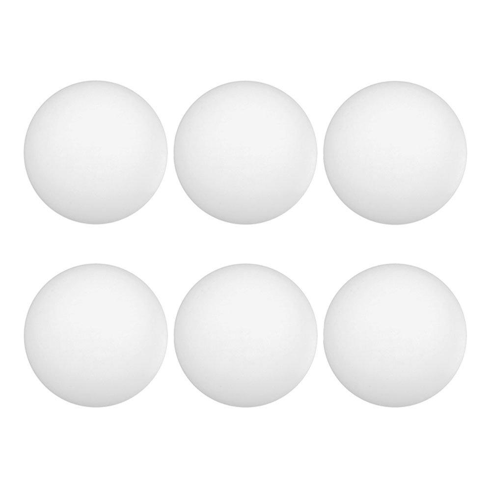 6のセットホワイトPing Pong Balls B079ZLLWWQ