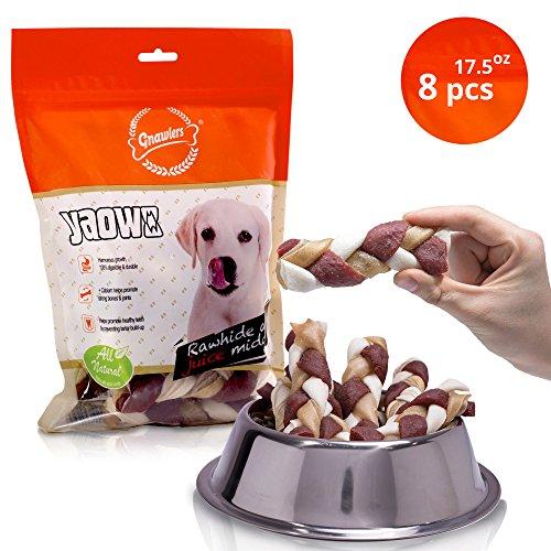 Puppy Food 35 Lb Bag (Dog Treats - Twist Bully Rawhide Sticks For Harmonious Growth: All-Natural Chew Sticks With Prebiotics, Vitamins & Minerals - Digestible Treat Sticks - Strong Bones Joint 17 oz (Medium 15 - 35 LBS)