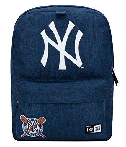 New Era Herren Accessoires / Rucksack NY Yankees Heritage Patch Stad Pack blau Verstellbar